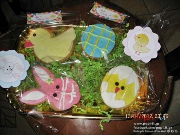Συνταγή για πασχαλινά μπισκότα βουτύρου