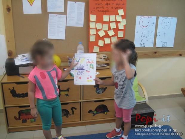 Γνωριμία με τα κέντρα ενδιαφέροντος - δραστηριοτήτων (γωνιές ) της τάξης