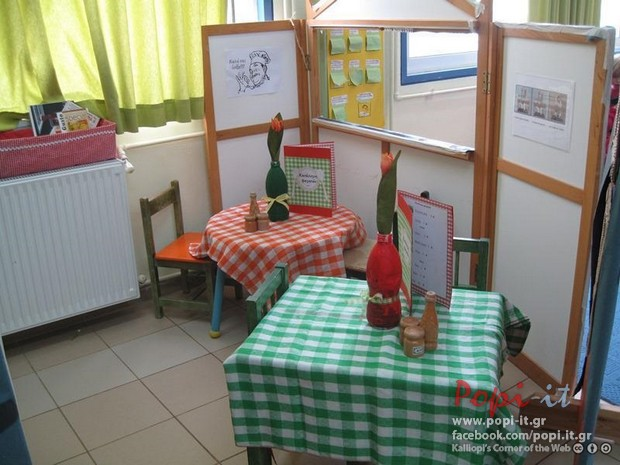 Ταβέρνα - Γωνιά - Κέντρο ενδιαφέροντος (προετοιμασία)