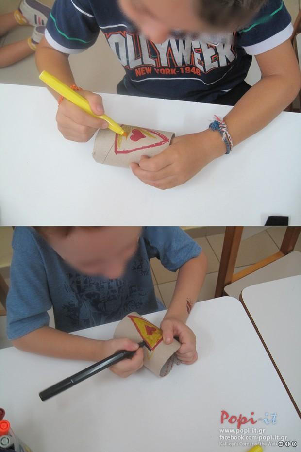 """Ζωγραφίζουμε το """"Βραχιόλια"""" των Super ηρώων"""