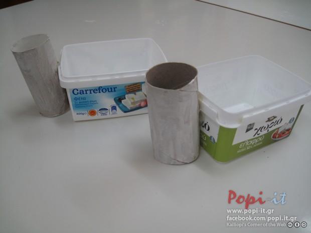 Καλαθάκια κοτούλες - Πασχαλινές κατασκευές
