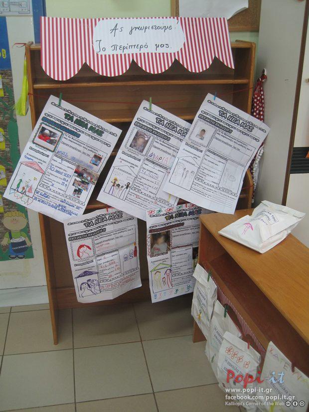 Η εφημερίδα του εαυτού μας στο περίπτερο της τάξης μας !