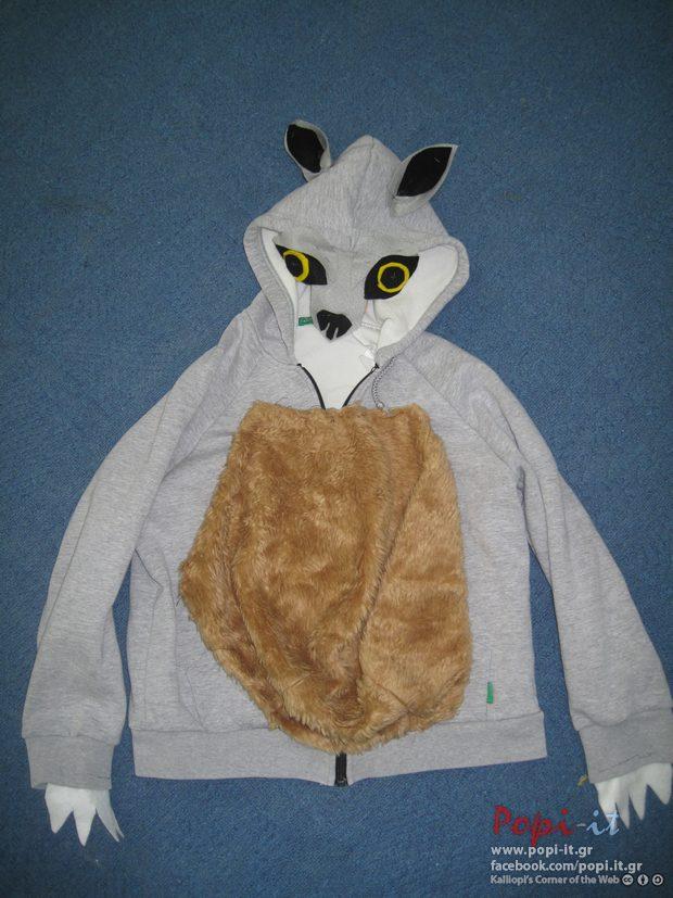 Πινόκιο και λύκος DIY αποκριάτικες στολές