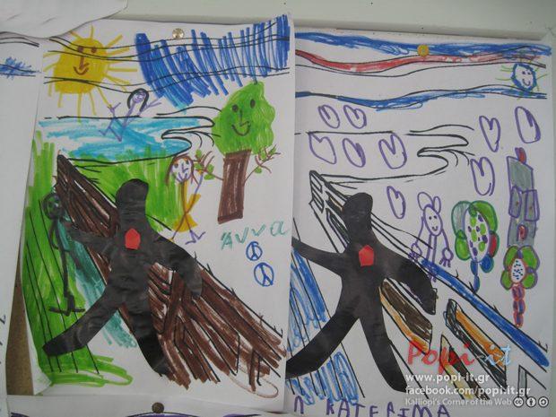 Οι δραπέτες των πινάκων ! Χαρά , λύπη, φόβος | Πόλεμος και Ειρήνη