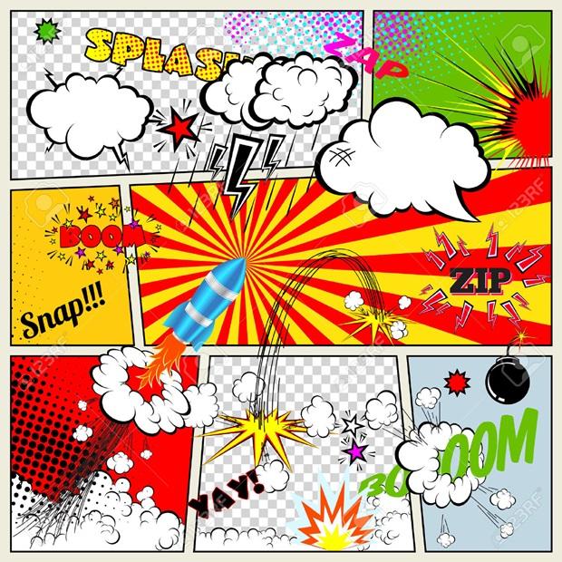 Παιχνίδια με ήχους - comics