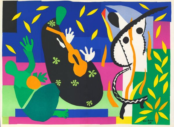 Matisse : «Sorrow of the king»