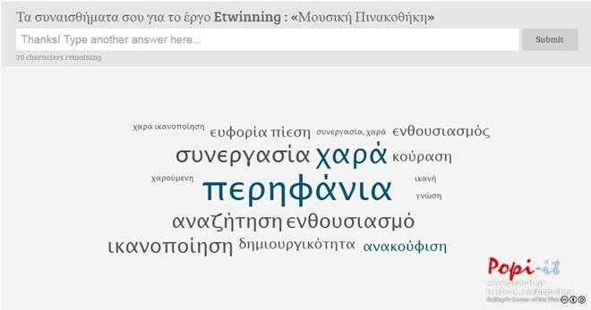 Αξιολόγηση Etwinning : « Μουσική Πινακοθήκη»