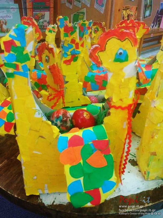 Πασχαλινές δημιουργίες στο Νηπιαγωγείο