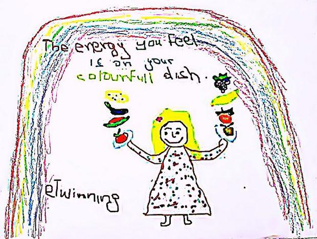 Μυστικά υγιεινής διατροφής (ηλεκτρονικές διαφημίσεις και φυλλάδιο)