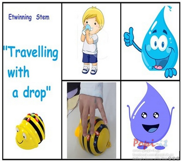 STEM : Travelling with a drop / eTwinning (Ξεκινάμε...)