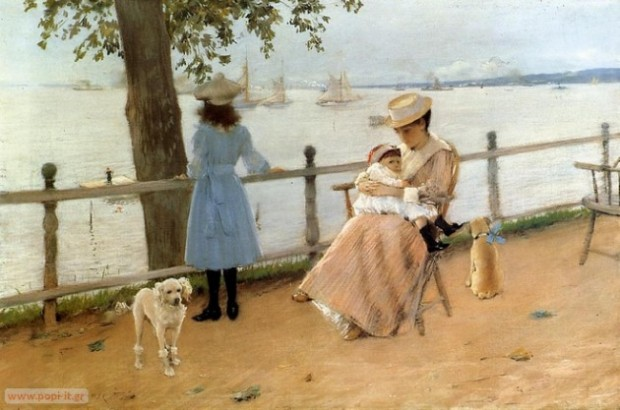 Gravesend Bay, by William Merritt Chase. 1888