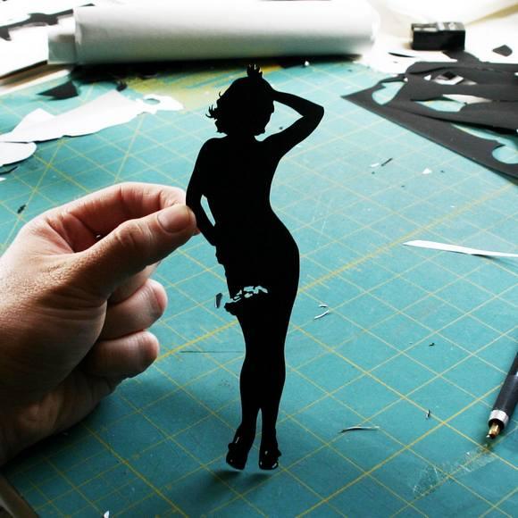 Χάρτινες Σιλουέτες - Τέχνη με χαρτί (16)