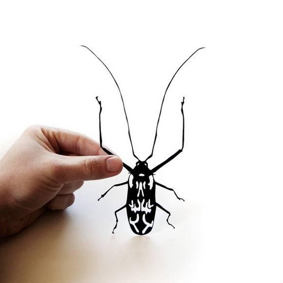 Χάρτινες Σιλουέτες - Τέχνη με χαρτί (15)