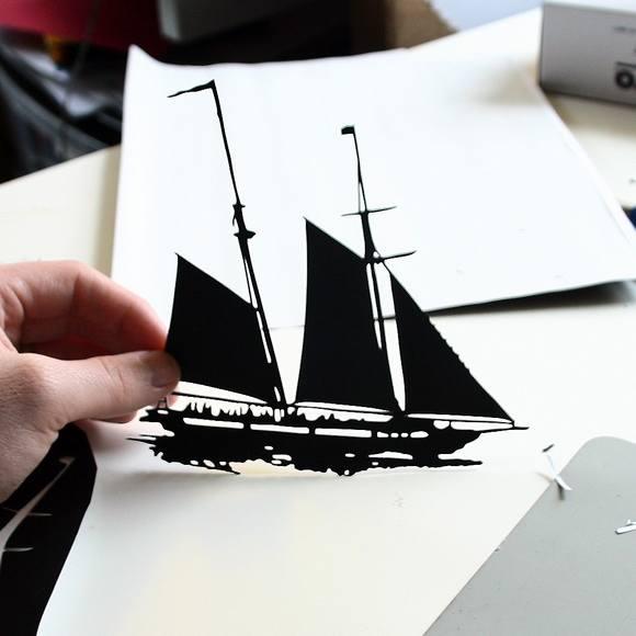 Χάρτινες Σιλουέτες - Τέχνη με χαρτί (10)