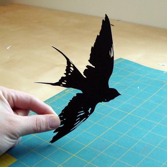 Χάρτινες Σιλουέτες - Τέχνη με χαρτί (4)