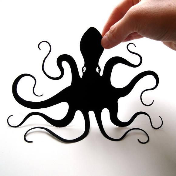 Χάρτινες Σιλουέτες - Τέχνη με χαρτί (1)
