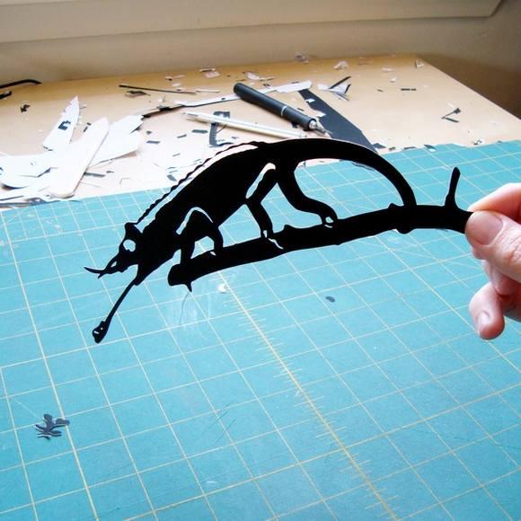 Χάρτινες Σιλουέτες - Τέχνη με χαρτί (2)