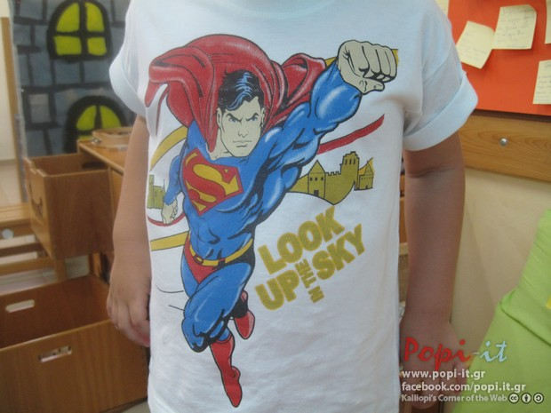 Μπλούζα με Super ήρωα