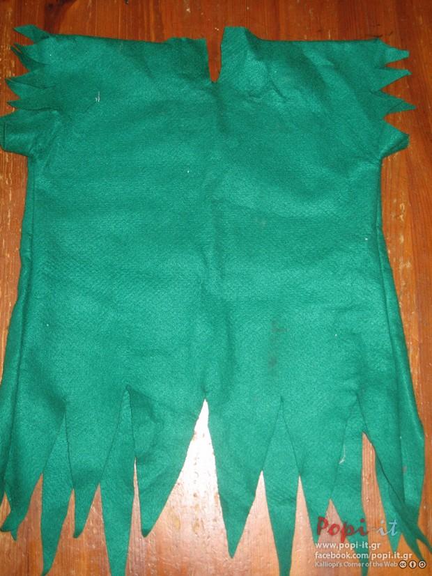 DIY Αποκριάτικες στολές - Ρομπέν των δασών