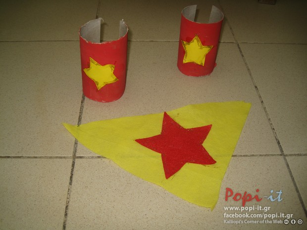 Super heroes costume diy