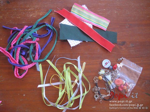 Δακτυλίδια και βραχιόλια DIY από μακό κορδόνια