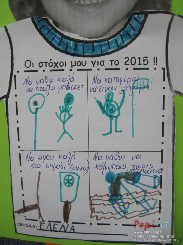 Nέα χρονιά. 2015 ευχές και νέοι στόχοι !