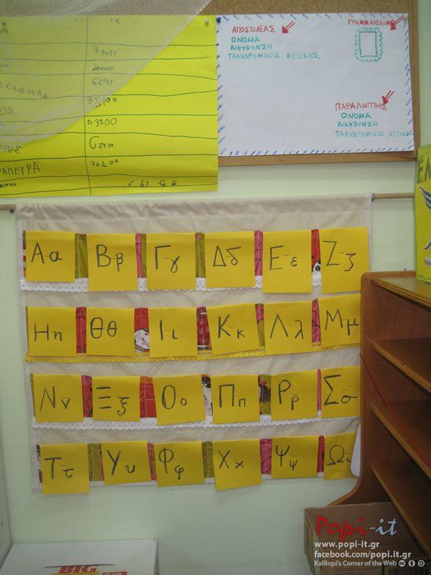 Αλφαβητική τοποθέτηση των φακέλων