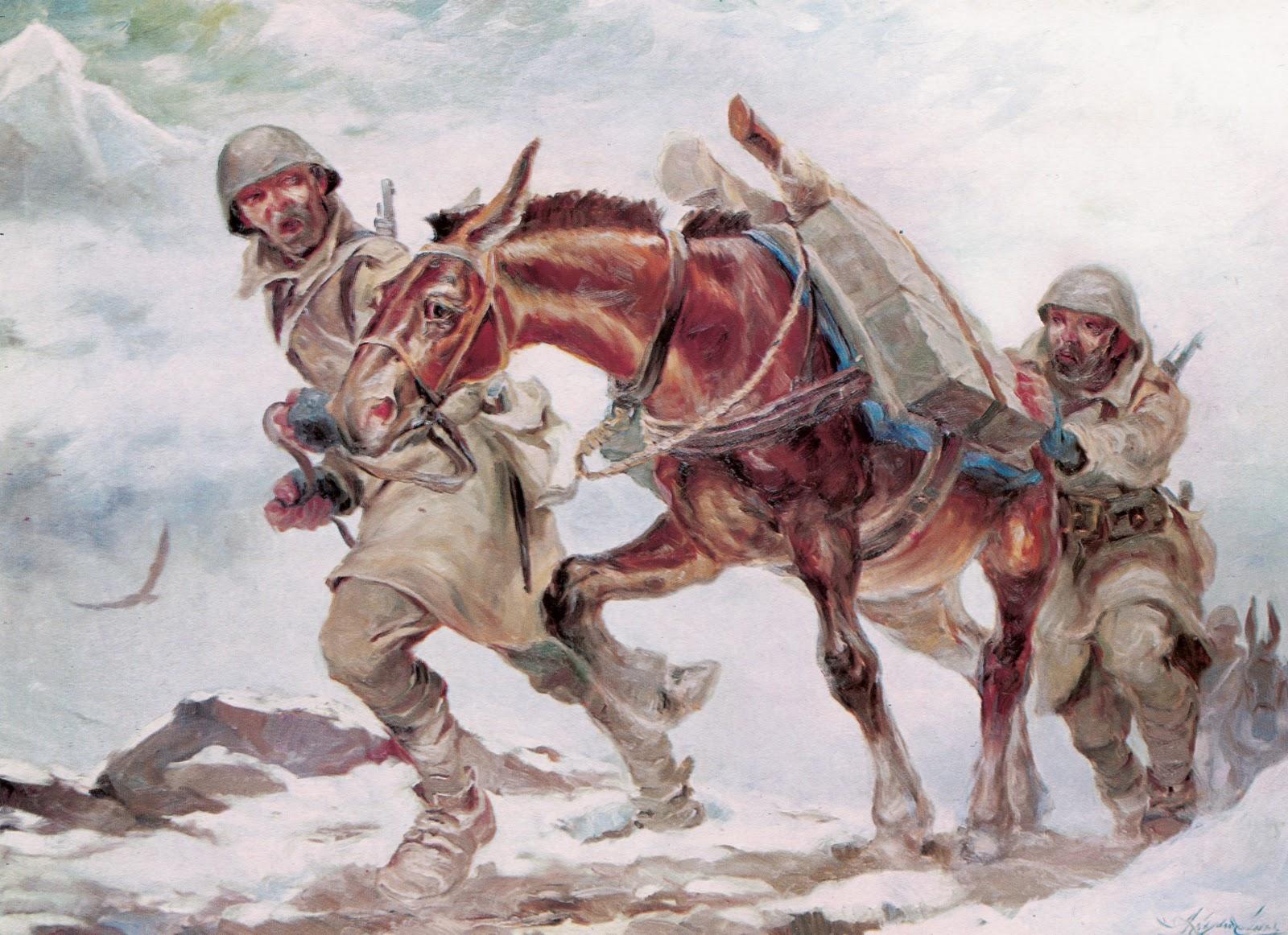 Πίνακας Αλεξανδράκη 1940: Οι ήρωες μας διηγούνται ..