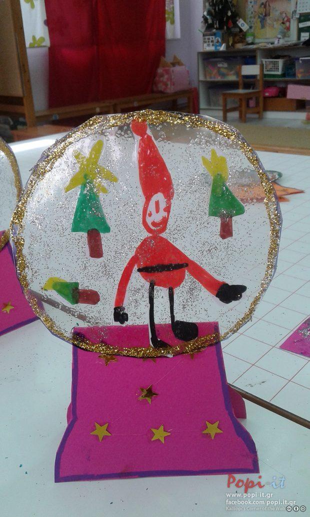 Χιονόμπαλες με Χριστουγεννιάτικες αναμνήσεις και κάρτες