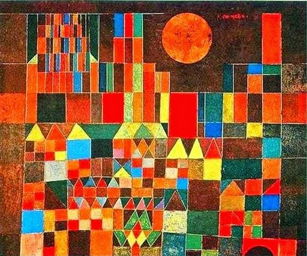 Το Κάστρο και ο ήλιος του Klee μας δείχνουν την Ειρήνη