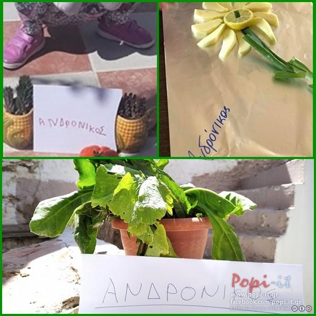 Ένα λουλούδι για τον Ανδρόνικο